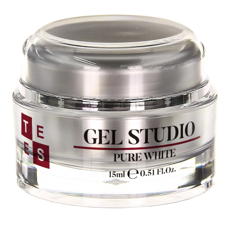 Gel Uñas Tees Studio Pure White 15ML
