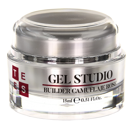 Gel Uñas Tees Studio Builder Camuflaje Rose 15ML
